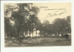 Tienen Tirlemont Les Boulevards Et Le Slecksteen - Tienen
