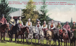 Types De Trans-Baikal - Sectateurs De Campagne De L'ancienne Religion, Envoyés à Baikal Par Catherine II - ESPERANTO - Russie