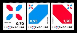 Luxembourg 2016 Mih. 2104/06 National Branding MNH **