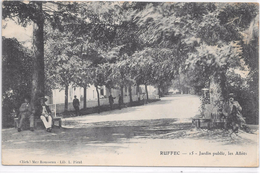 RUFFEC - Jardin Public, Les Allées - Ruffec