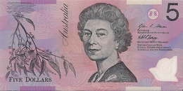 AUSTRALIA=N/D   5  DOLLARS    P-57    UNC  POLYMER - Australia