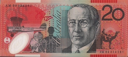 AUSTRALIA=N/D   20  DOLLARS    P-59    UNC  POLYMER - Australia