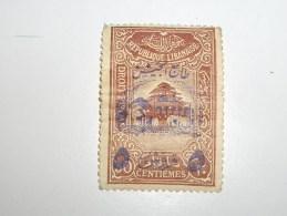 FRANCE Colonie Liban !   Avec Pliure Et Gomme