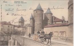 57 - METZ - NELS SERIE 104 N° 161- PORTE DES ALLEMANDS - Metz