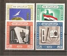 Egipto - Egypt. Nº Yvert  533-34, 536, 539 (MH/*) - Egipto