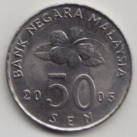 @Y@   Maleisië     50 Sen 2005    AUNC  (4072) - Malaysia