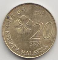 @Y@   Maleisië     20 Sen 2012    AUNC  (4074) - Malaysia