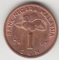 @Y@   Maleisië     1 Sen 2005    (4076) - Malaysie