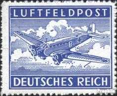 Dt. Feldpost 2.WK Mi.-Nr.: 1B (kompl.Ausg.) Gefälligkeitsentwertung Gestempelt 1942 Feldpost - Luftpost
