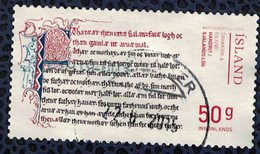 Islande 2014 Oblitéré Used Emission Commune Islande Danemark Manuscrits - 1944-... Republique