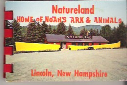 Booklet  Natureland Home Of Noah's Ark & Animals, Lincoln, New Hampshire - Exploration/Travel