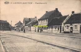 CPA SINT LIEVENS HAUTEM  PAARDENMARKT - Sint-Lievens-Houtem