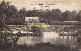 CPA  AUDERGHEM VAL DUCHESSE JARDIN FRANCAIS - Auderghem - Oudergem