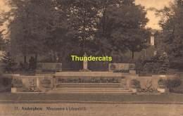 CPA  AUDERGHEM MONUMENT A LEOPOLD II - Auderghem - Oudergem