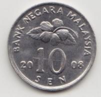 @Y@   Maleisië     10  Sen   2008     (4100) - Malaysie