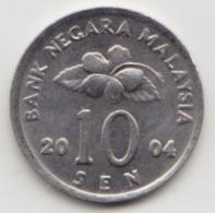 @Y@   Maleisië     10  Sen   2004     (4101) - Malaysie