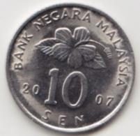 @Y@   Maleisië     10  Sen   2007     (4102)   AUNC - Malaysie