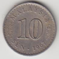 @Y@   Maleisië     10  Sen   1967     (4105) - Malaysie