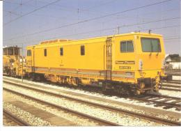 Eurofer N°559 - Engin De Travaux Matisa Plasser & Theurer, Gare De Castejon De Ebro (Espagne) - - Materiale