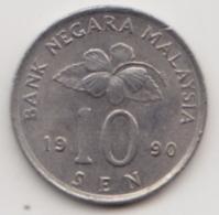 @Y@   Maleisië     10  Sen   1991     (4119) - Malaysie