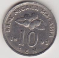 @Y@   Maleisië     10  Sen   1993     (4125) - Malaysie