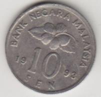 @Y@   Maleisië     10  Sen   1993     (4127) - Maleisië