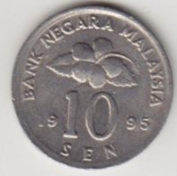 @Y@   Maleisië     10  Sen   1995     (4128) - Maleisië