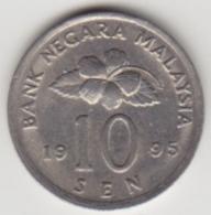 @Y@   Maleisië     10  Sen   1995     (4129) - Maleisië