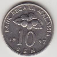 @Y@   Maleisië     10  Sen   1997     (4133) - Malaysie