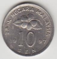 @Y@   Maleisië     10  Sen   1997     (4134) - Malaysie