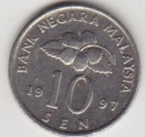 @Y@   Maleisië     10  Sen   1997     (4135) - Malaysie