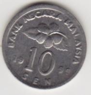 @Y@   Maleisië     10  Sen   1999     (4136) - Malaysie