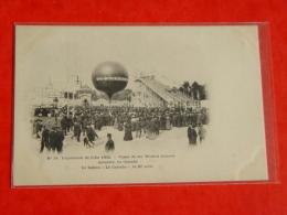 NORD-0 24 EXPOSITION DE LILLE 1902-VISITE DE SR WILFRID LAURIER-LE BALLON LE CANADA LE 27 AOUT-ANIMEE SELECTION - Lille