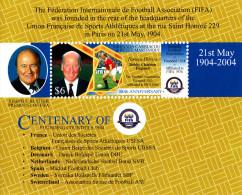 Grenada Grenadines. Football Soccer 100 FIFA MNH**