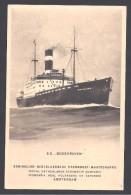 """SS  """" BODEGRAVEN """" - Bateaux"""