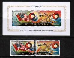 AITUTAKI  Scott # 115-16a** VF MINT NH - Aitutaki