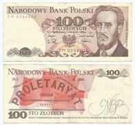 Polonia - Poland 100 Zlotych 1988 Pick 143.e Ref 1239 - Polonia
