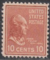 UNITED STATES      SCOTT NO.  815      MINT HINGED      YEAR  1938