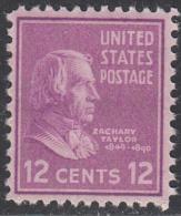 UNITED STATES      SCOTT NO.  817      MNH      YEAR  1938