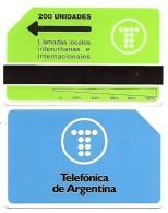 @+ Carte D´Argentine URMET - 200U (1992) - Neuve - 5000ex - Argentine