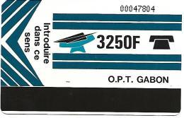 @+ Gabon - 3 250F Autelca - Texte Verso : La Machine A Affranchir - Gabun