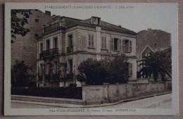 83 : Hyères - Villa Roux-Seignoret - 11 Avenue D'Orient - Etablissements Climatiques D'Enfants - Côte D'Azur - (n°7103) - Hyeres