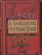A Shakespeare Birthday Book - Livres, BD, Revues