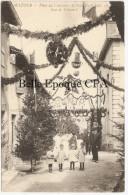 71 - MATOUR - Fêtes Du Concours Agricole 1913 - Rue De Trécourt +++++++ Sans éditeur ++++++ - France