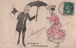 6020A    HUMOUR  ???    ECRITE   1905 - Humour