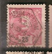 Portugal & Marcofilia D. Carlos I, Lisboa 1898-05  (141) - Oblitérés