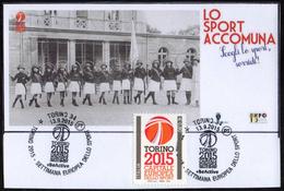 ITALIA TORINO 2015 - SETTIMANA EUROPEA DELLO SPORT - LO SPORT ACCOMUNA - Francobolli