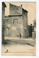 Ref 199 - PARIS 18 - Montmartre - Au Coin De La Rue Saint-Vincent Et Mont-Cenis (1910) - Arrondissement: 18