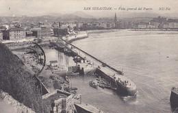 ESPAGNE---SAN SEBASTIAN---vista Géneral Del Puerto--voir 2 Scans - Guipúzcoa (San Sebastián)
