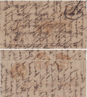 India  1840  First  Anglo Afghan War Hand Struck  Letter Sheet From Jullundher   #  93063  Inde  Indien - ...-1852 Prephilately